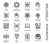 Data Science Outline Icons  ...