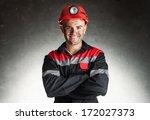 Portrait Of Happy Smiling Coal...