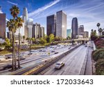 Stock photo los angeles california usa downtown cityscape 172033643