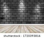 empty room interior with...   Shutterstock . vector #1720393816