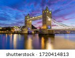 Tower Bridge London At Sunrise