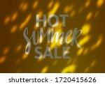 hot summer sale banner design.... | Shutterstock .eps vector #1720415626