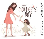 happy mother's day. the love of ... | Shutterstock .eps vector #1720423729