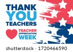 Teacher Appreciation Week In...