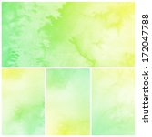 watercolor abstract painting...   Shutterstock . vector #172047788