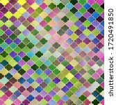 Mosaic Quatrefoil Design   Cute ...