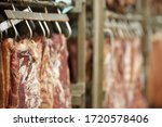 Meat Factory. Industrial...