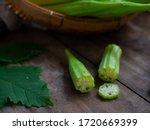 Organic Okra   Fresh Green Okra ...