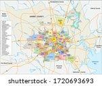 vector neighborhood map of the... | Shutterstock .eps vector #1720693693