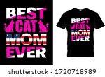 Best Cat Mom Ever Mom Cat Usa...