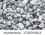 Gravel Texture. Pebble Stone...