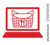 this is an online shopping icon   Shutterstock .eps vector #1720742143