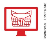 this is an online shopping icon   Shutterstock .eps vector #1720743430