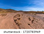 A Dry Riverbed Somewhere On Th...