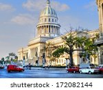 the national capitol building... | Shutterstock . vector #172082144