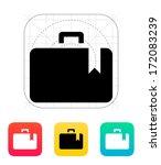 case bookmark icon. vector...