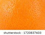 Orange Fruit Texture. Ripe...
