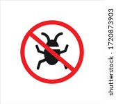 bug icon vector. insect icon...