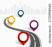 infographic design template...   Shutterstock . vector #1720908460