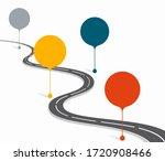 infographic design template...   Shutterstock . vector #1720908466