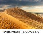 Tottori  Japan Sand Dunes On...