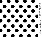 Black And White Polka Dot...