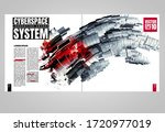 design templates for brochure ... | Shutterstock .eps vector #1720977019