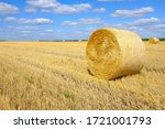 A Bale Of Hay In The Field...