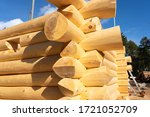 A Wooden Log Cabin Will Be...