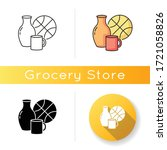 miscellaneous icon. supermarket ... | Shutterstock .eps vector #1721058826