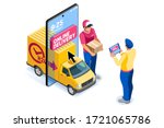 application for pay  discount... | Shutterstock .eps vector #1721065786