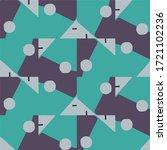 abstract vector background.... | Shutterstock .eps vector #1721102236