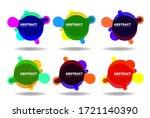 abstract modern badge template... | Shutterstock .eps vector #1721140390