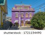 valparaiso  chile february 26 ... | Shutterstock . vector #1721154490