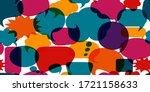 colored speech bubble.... | Shutterstock .eps vector #1721158633