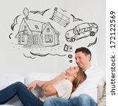 mortgage and credit concept.... | Shutterstock . vector #172122569