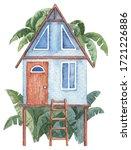 Tiny Tropical House On Piles...