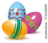 realistic illustration of three ... | Shutterstock .eps vector #172130090