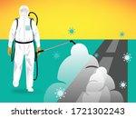 vector illustration of a human... | Shutterstock .eps vector #1721302243