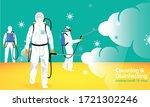 vector illustration of a human... | Shutterstock .eps vector #1721302246