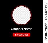 youtube profile icon interface. ...