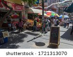 valparaiso  chile february 26 ... | Shutterstock . vector #1721313070