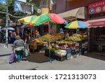 valparaiso  chile february 26 ... | Shutterstock . vector #1721313073