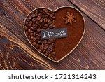 Close Up Decorative Coffee...
