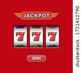 Jackpot Triple Seven In A Red...