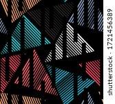 sports textile modern seamless... | Shutterstock .eps vector #1721456389