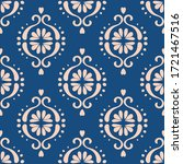 ikat geometric folklore... | Shutterstock .eps vector #1721467516