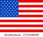 american flag | Shutterstock . vector #172148498