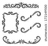 set of graphic element  | Shutterstock .eps vector #172149500