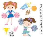 vector illustration of... | Shutterstock .eps vector #172151669